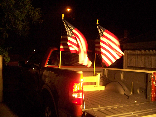 redneck flag mount / flag holder - f150online forums