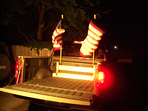 How To Mount A Flag Pole In Truck Bed